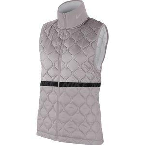 Nike Aerolayer Gray Running Vest/Gilet Small